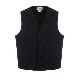 Mackinaw Wool Vest Charcoal