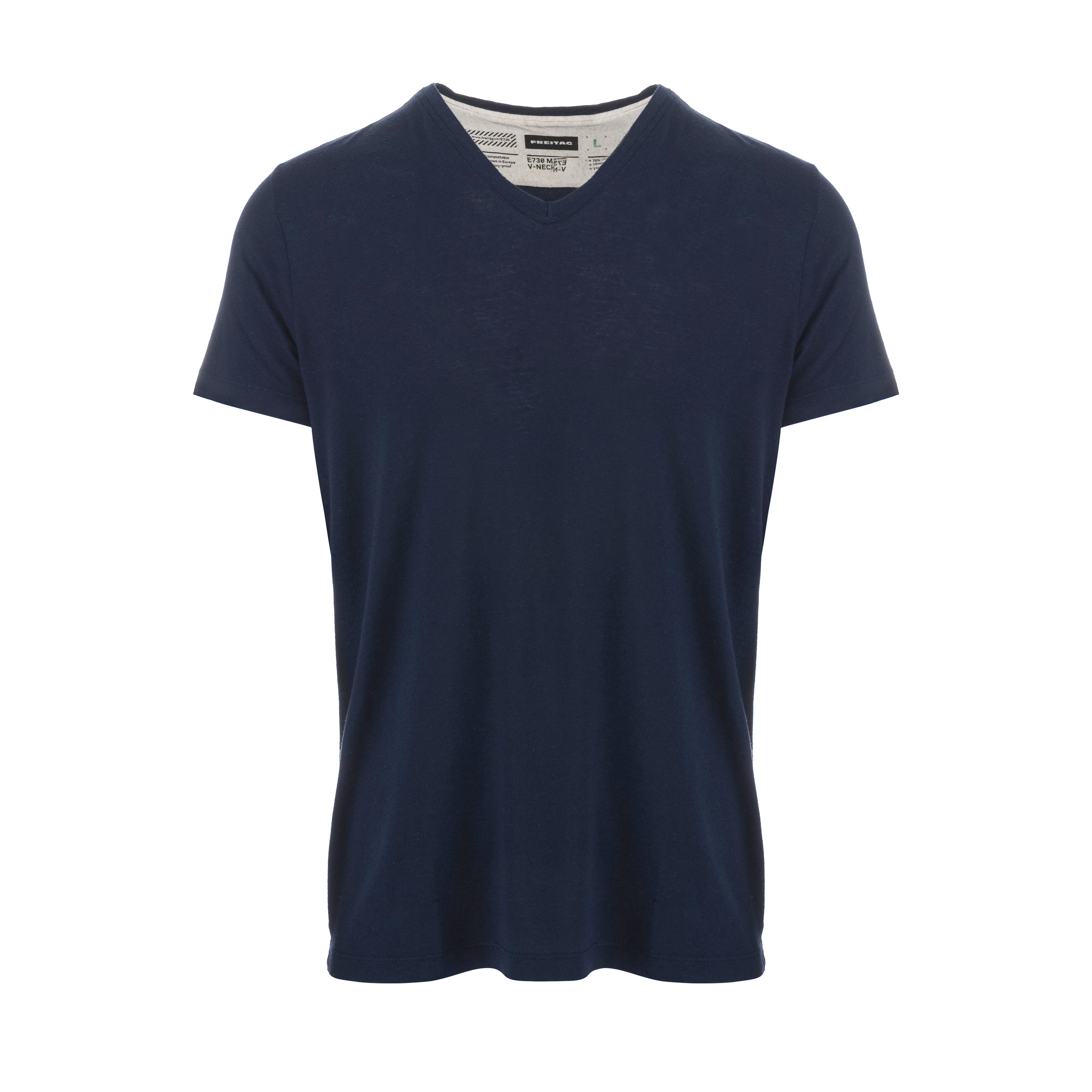 V-Neck T-Shirt Dark Blue