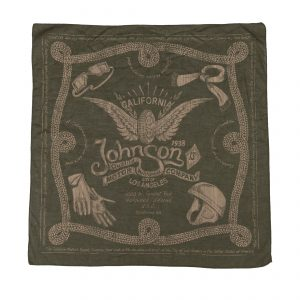 Winged Wheel Bandana Olive Drab