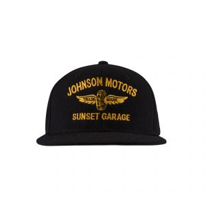 Sunset Garage Cap Black