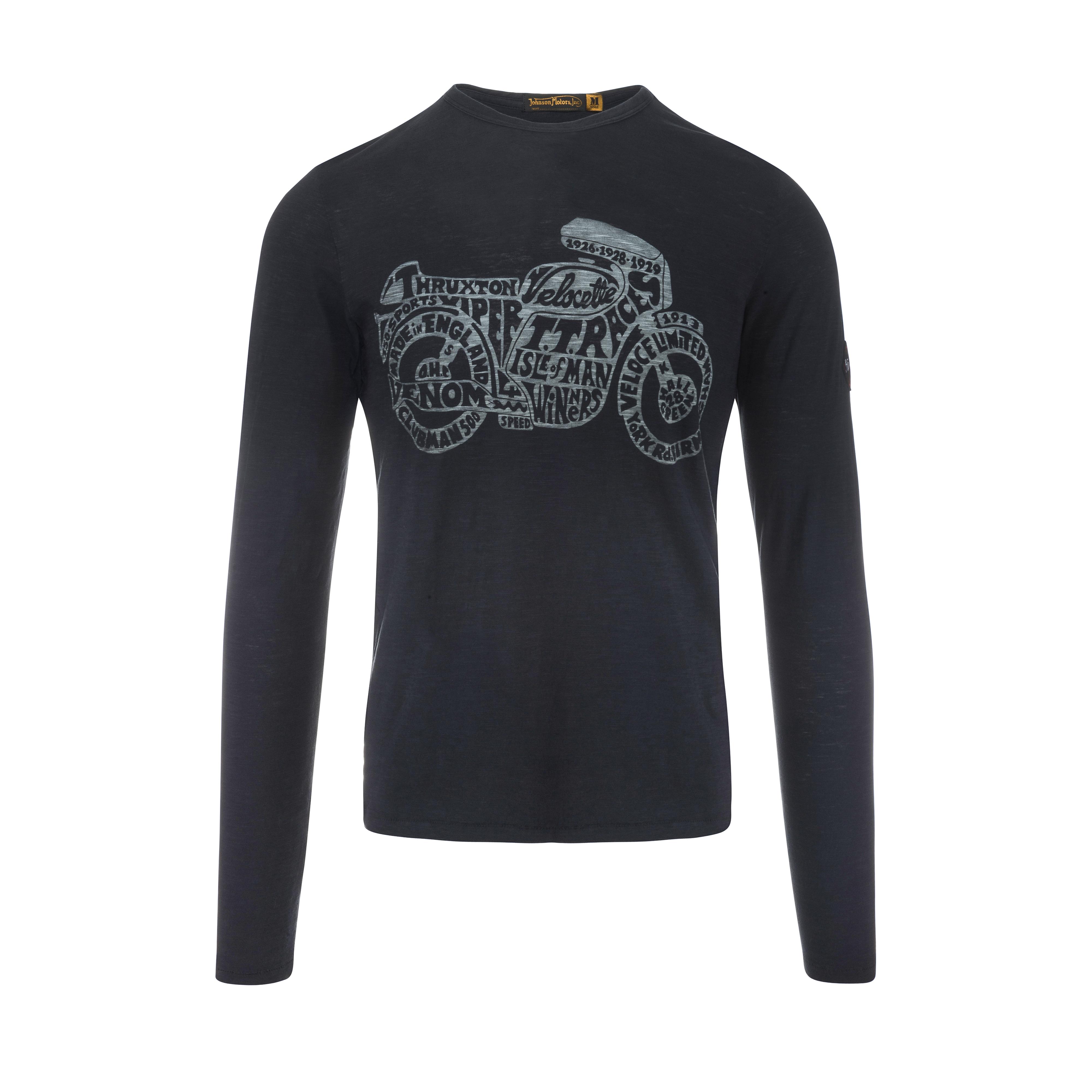 Thruxton Longsleeve Vintage Black