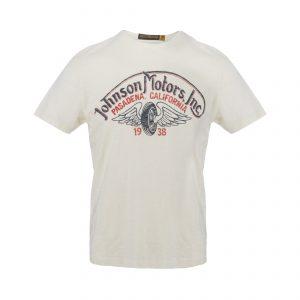 Winged Wheel T-Shirt Dirty White