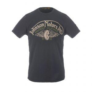 Winged Wheel T-Shirt Oiled Black