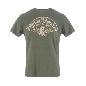 Winged Wheel T-Shirt Olive Drab