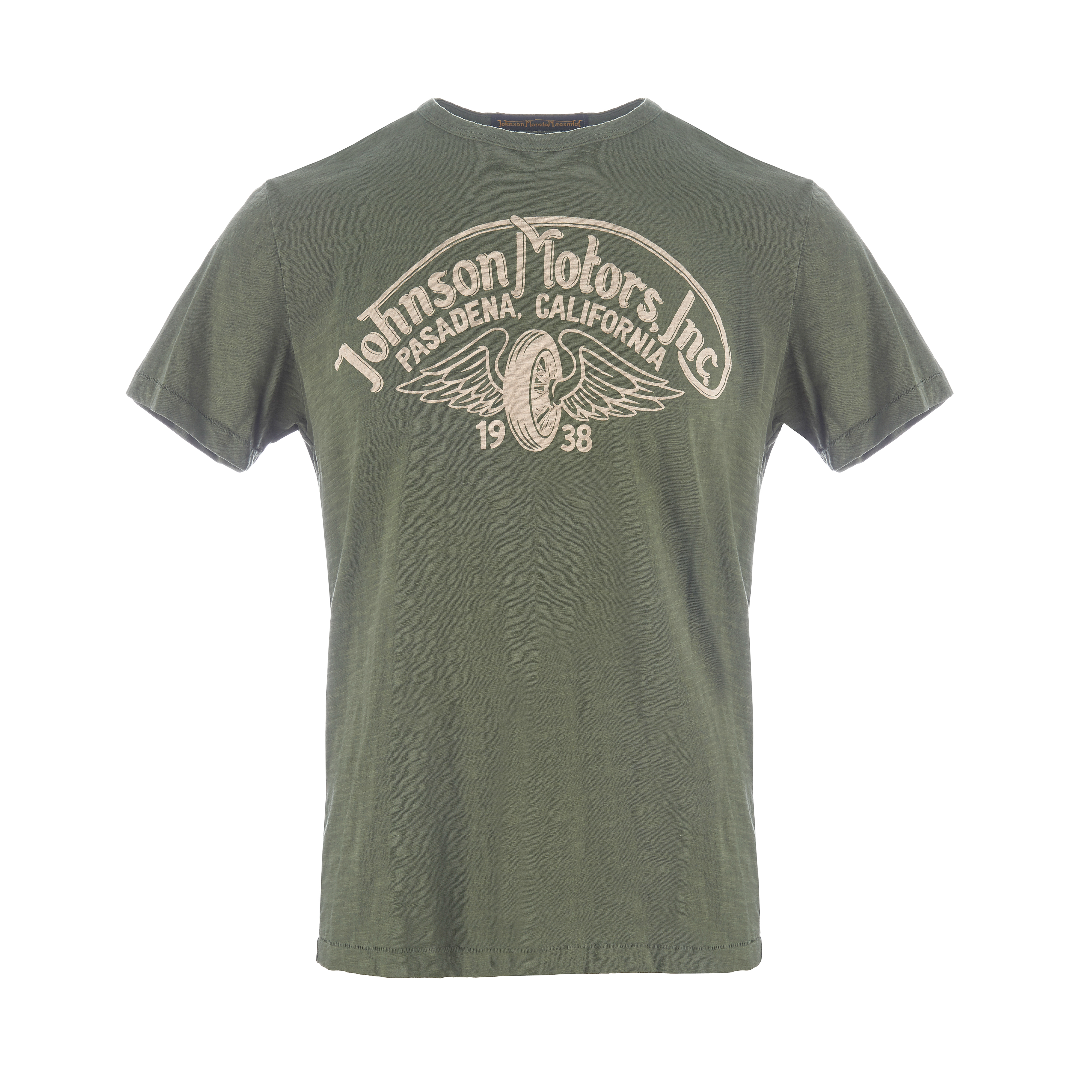 Winged Wheel T-Shirt Olive Drab