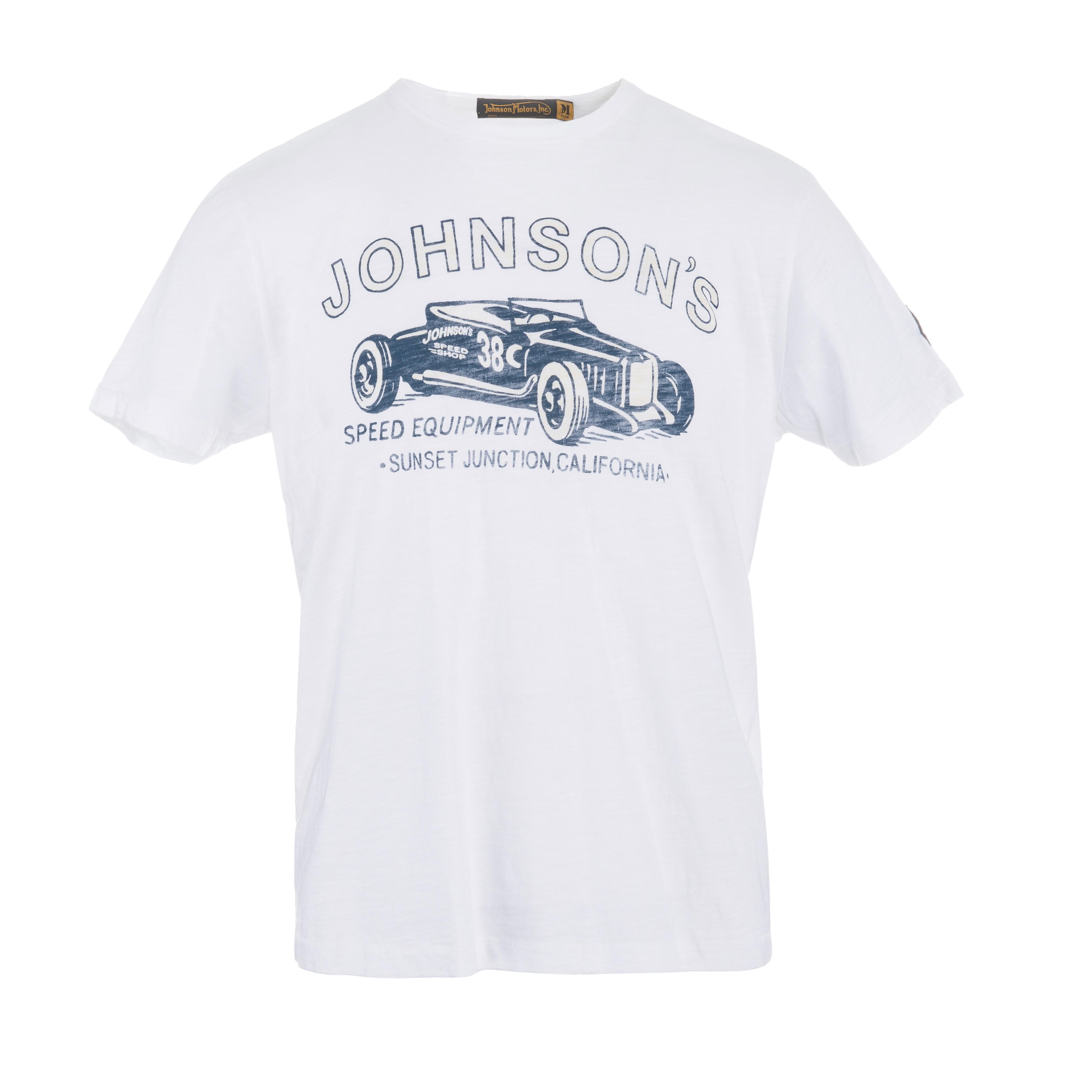 Johnson Speed Equipment T-Shirt Optic White