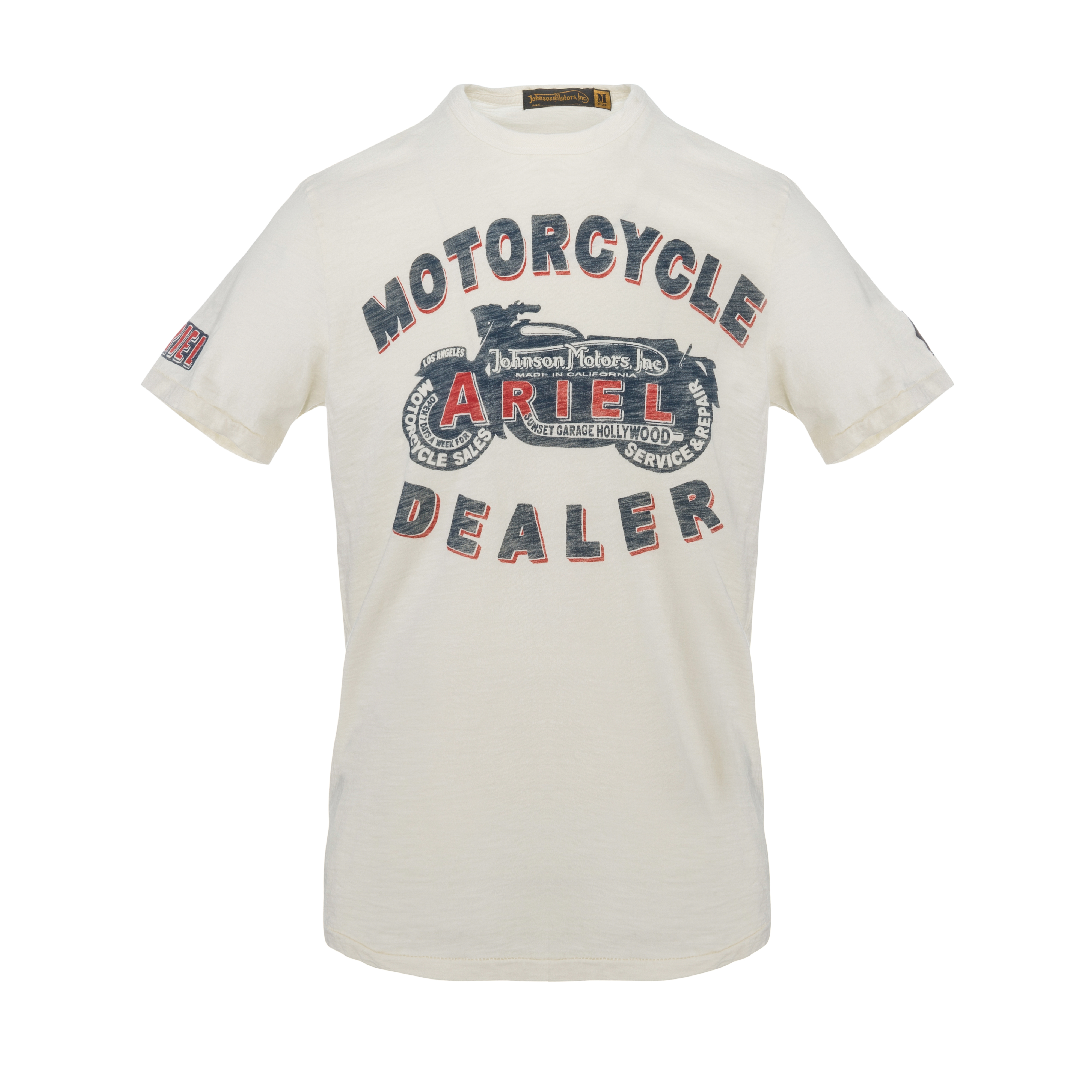 Ariel Dealer T-Shirt Dirty White