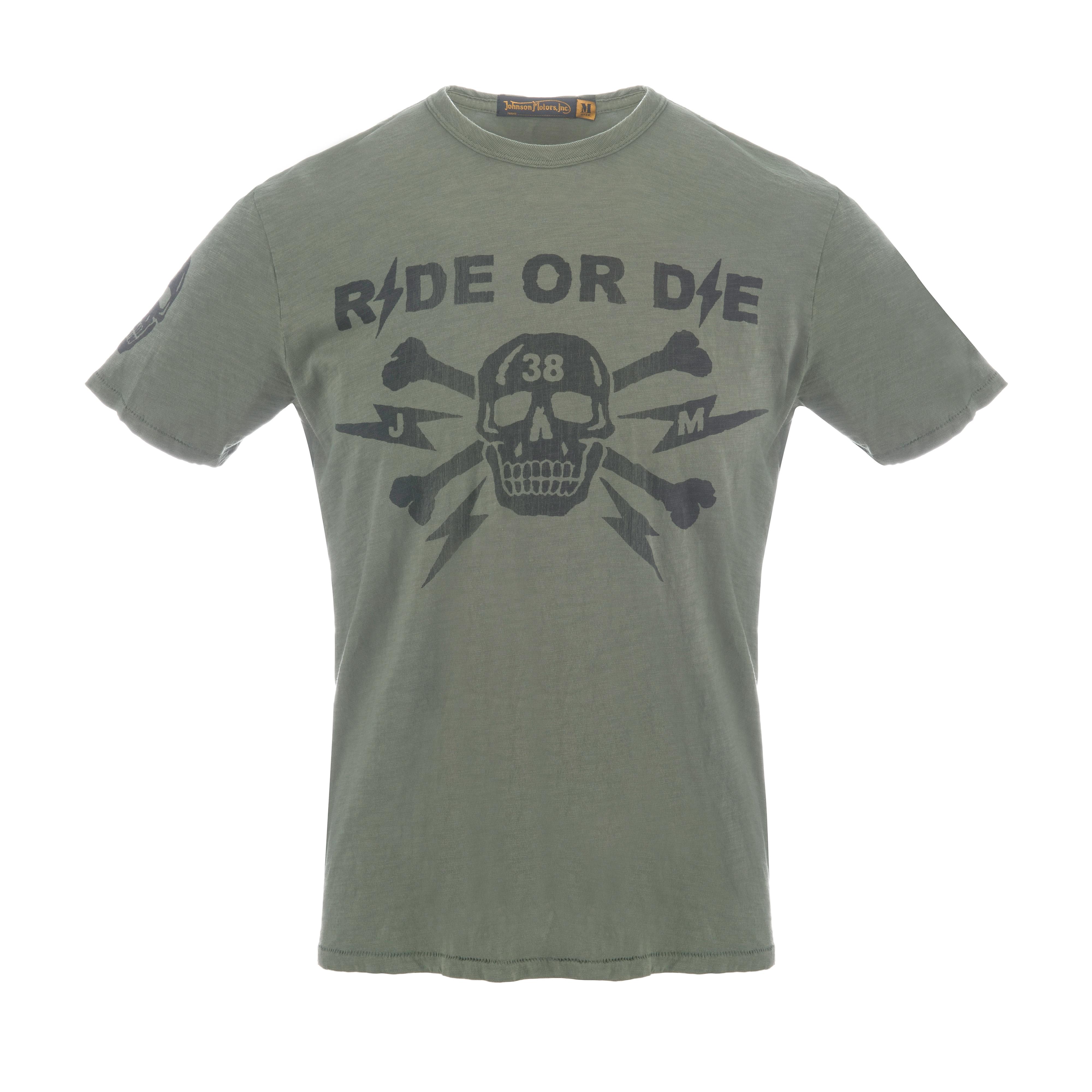 Ride Or Die 38 T-Shirt Olive Drab