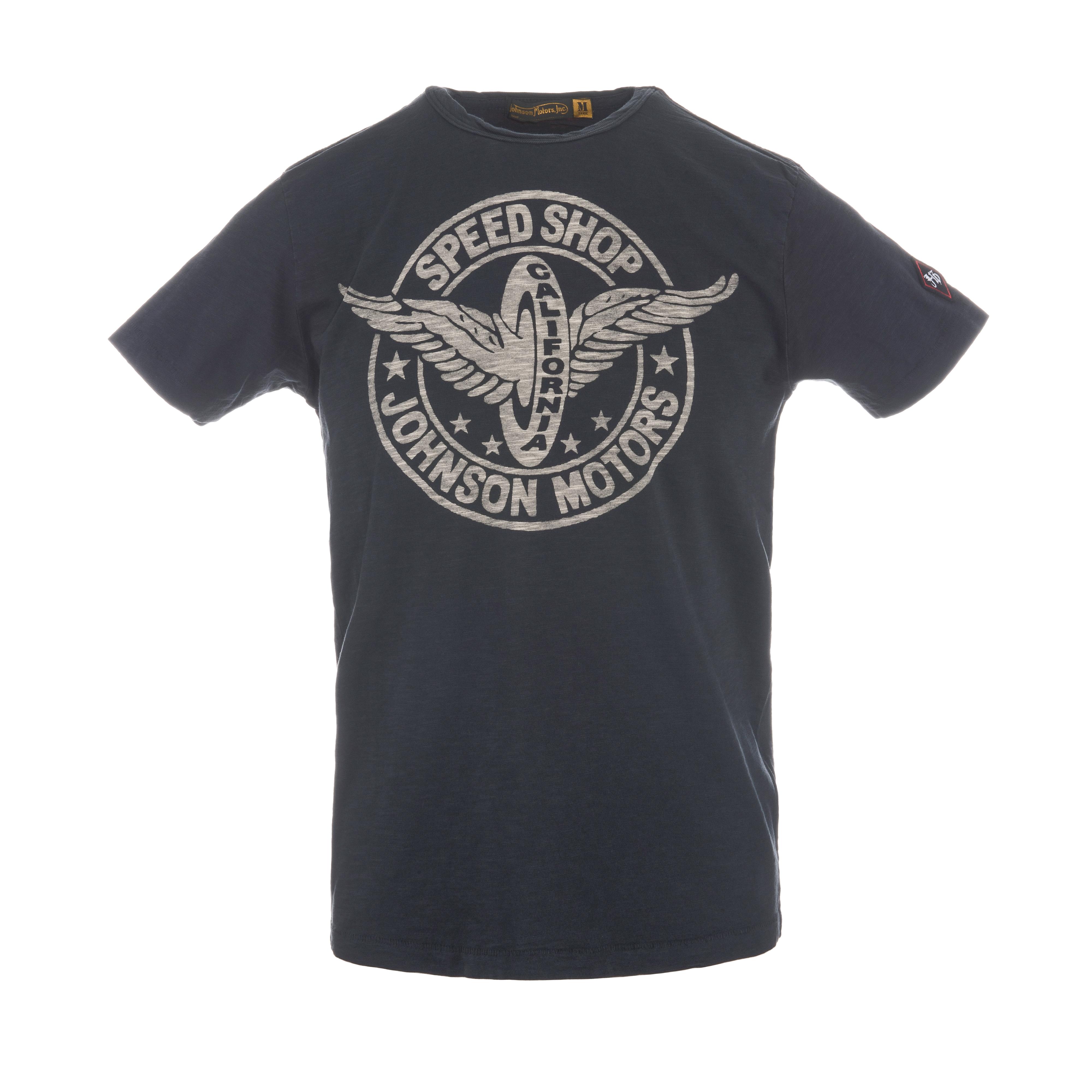 Speed Wheel T-Shirt Vintage Black