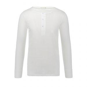 Henley 102 Longsleeve White
