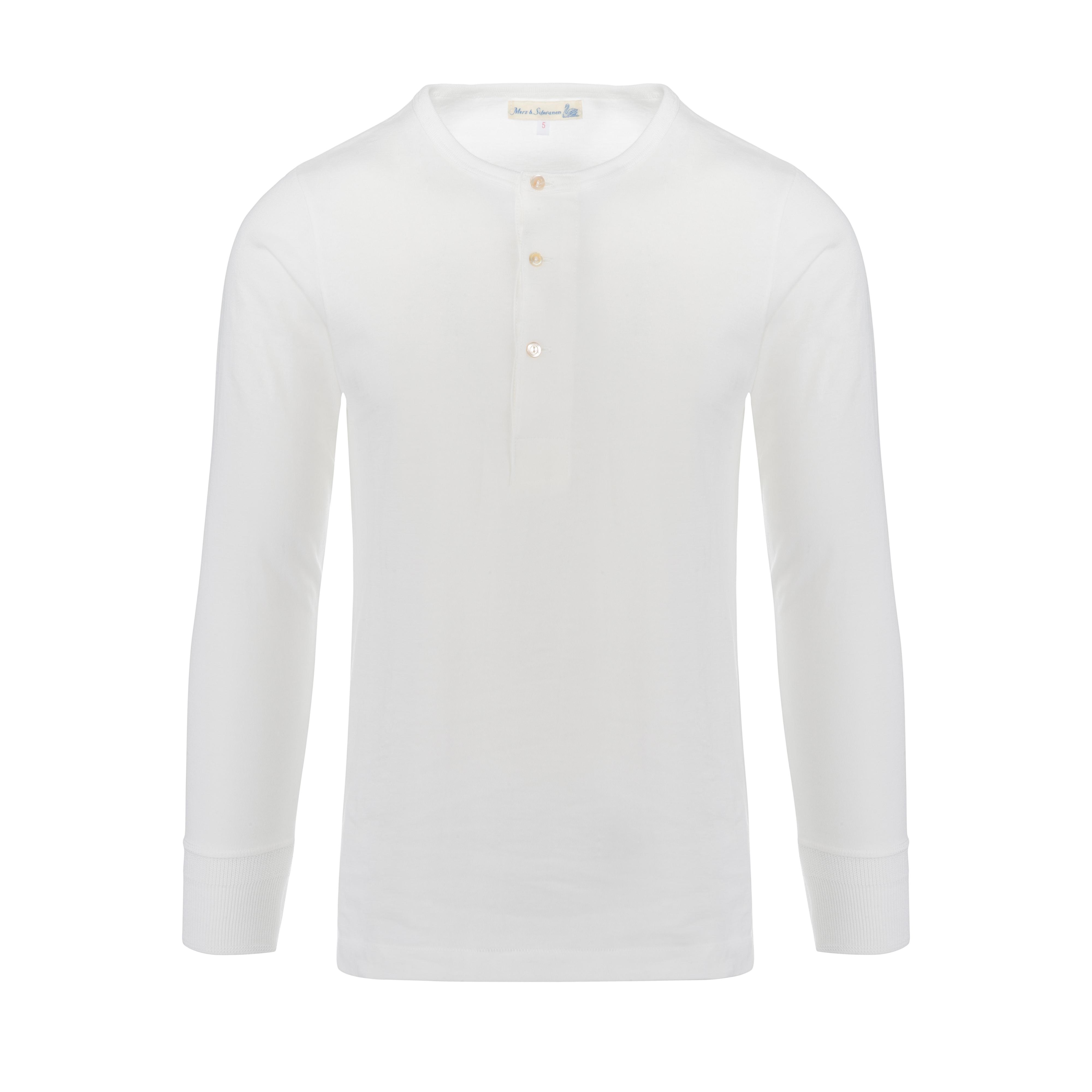 Henley 206 Longsleeve White