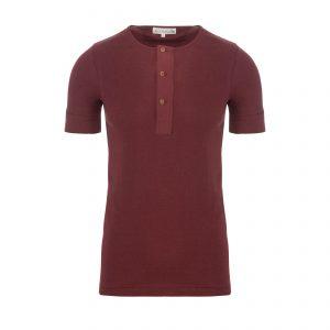 Henley 103 T-Shirt Dark Red