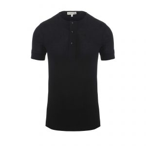 Henley 103 T-Shirt Deep Black