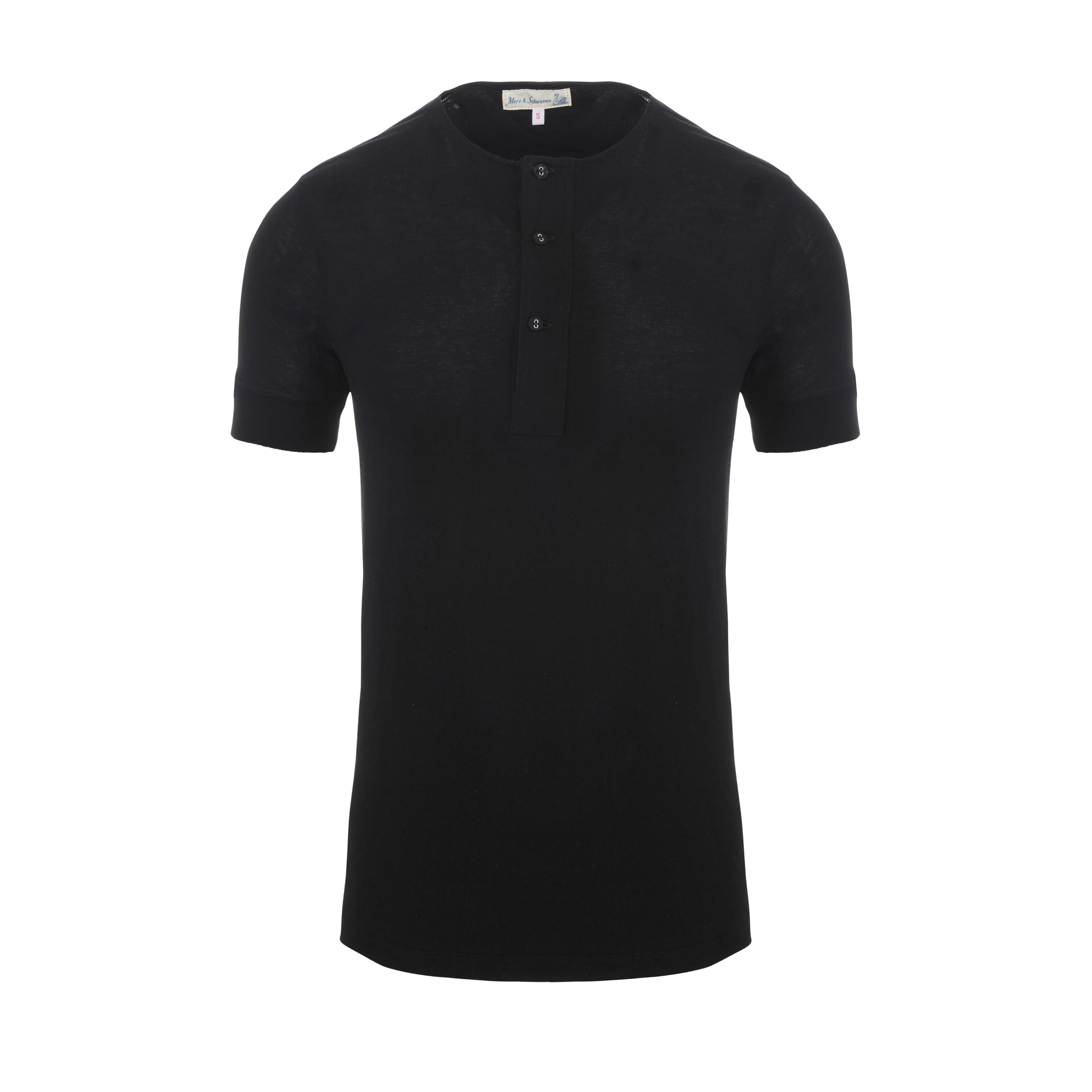 Henley 103 T-Shirt Deep Black