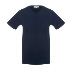 Crew Neck 1950s T-Shirt Ink Blue