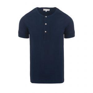Henley 207 T-Shirt Ink Blue