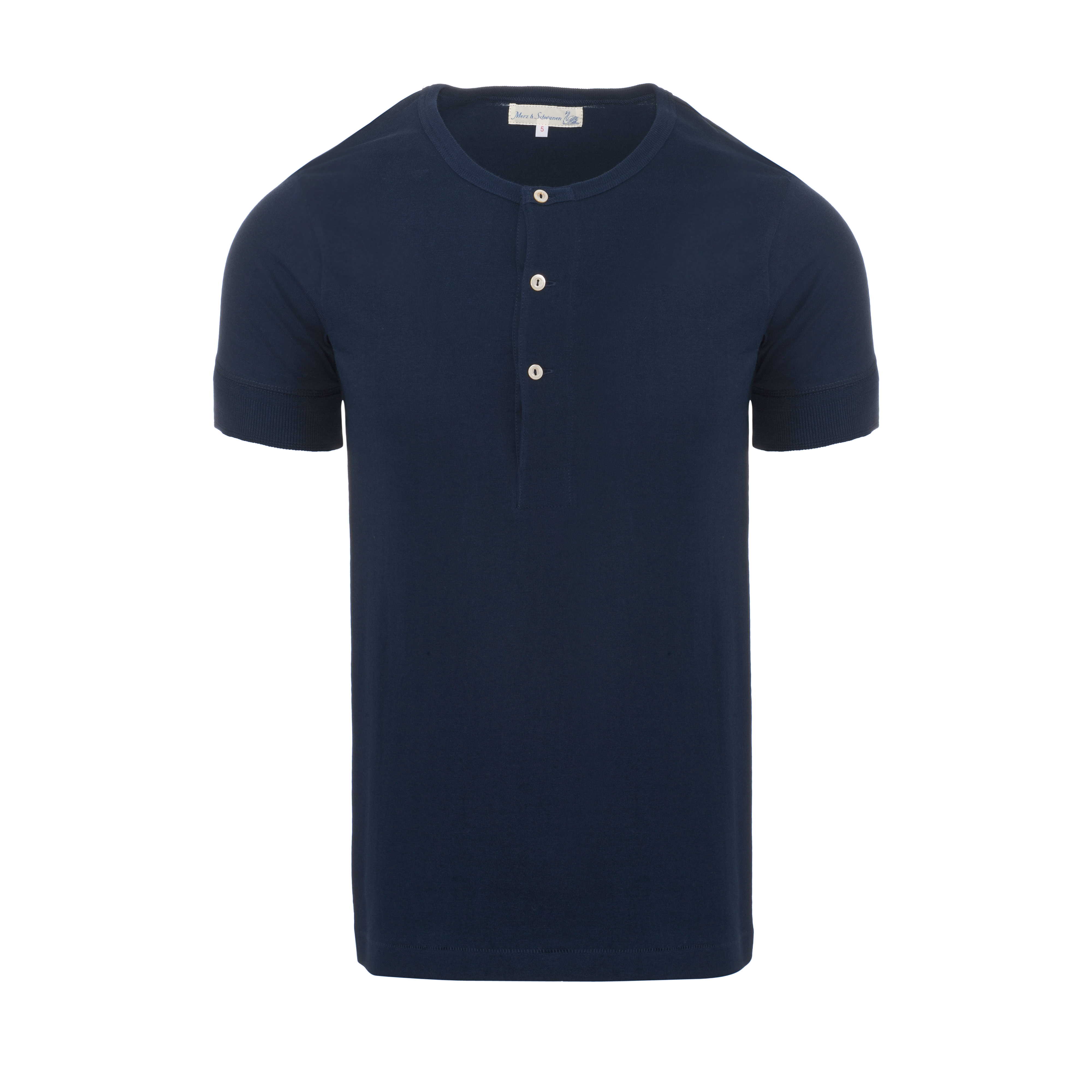 Henley 207 T-Shirt Ink Blue