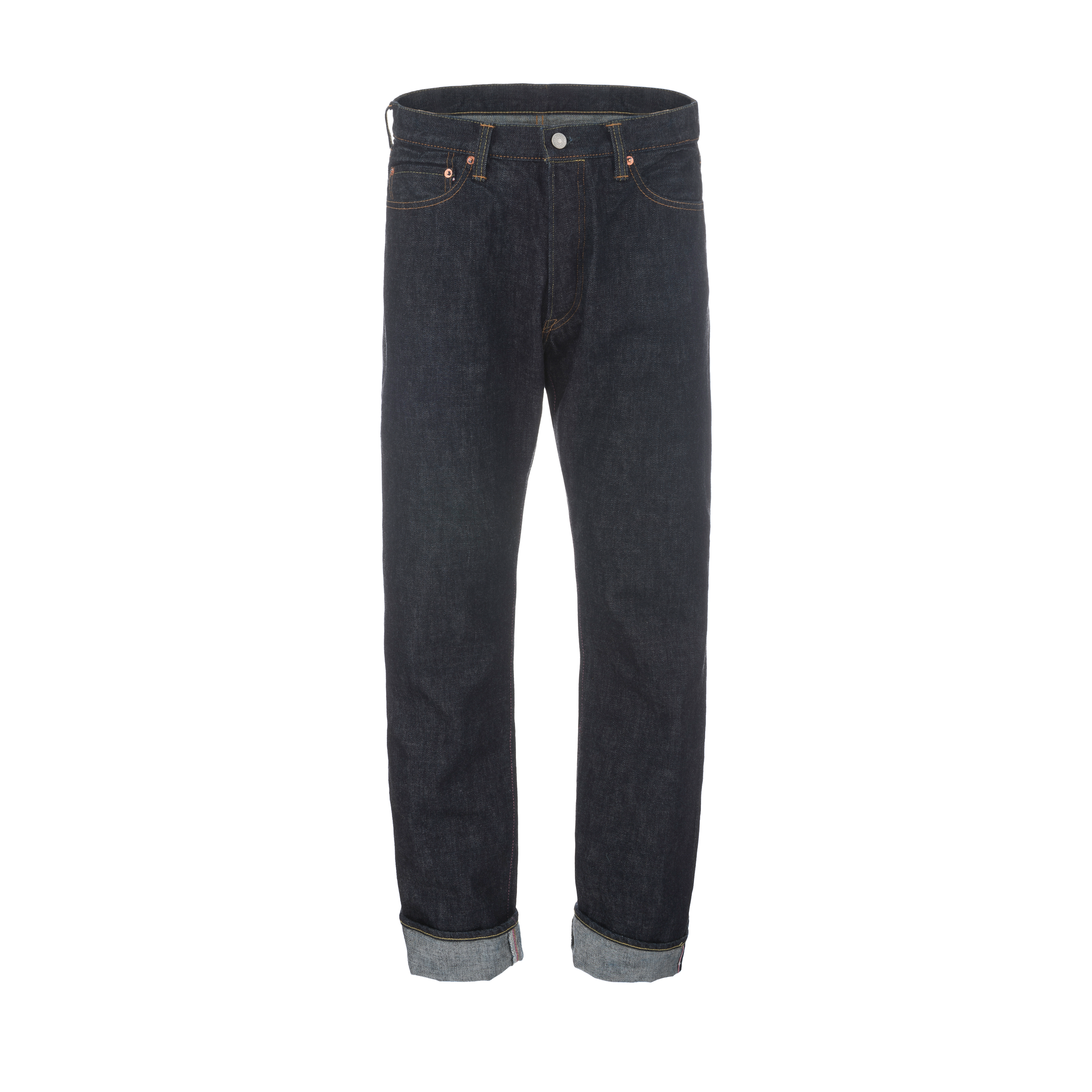 GTB Selvage King Size 15.7oz Raw Denim Jeans Indigo