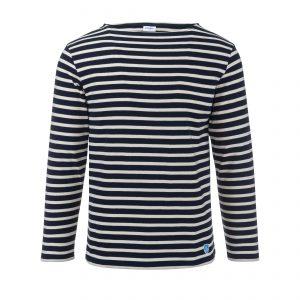 Marine Shirt Longsleeve Marine/Ecru