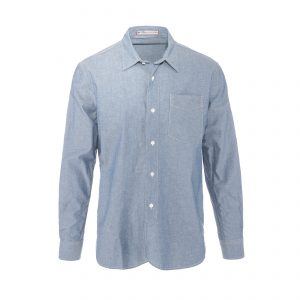 Chambray Shirt True Blue