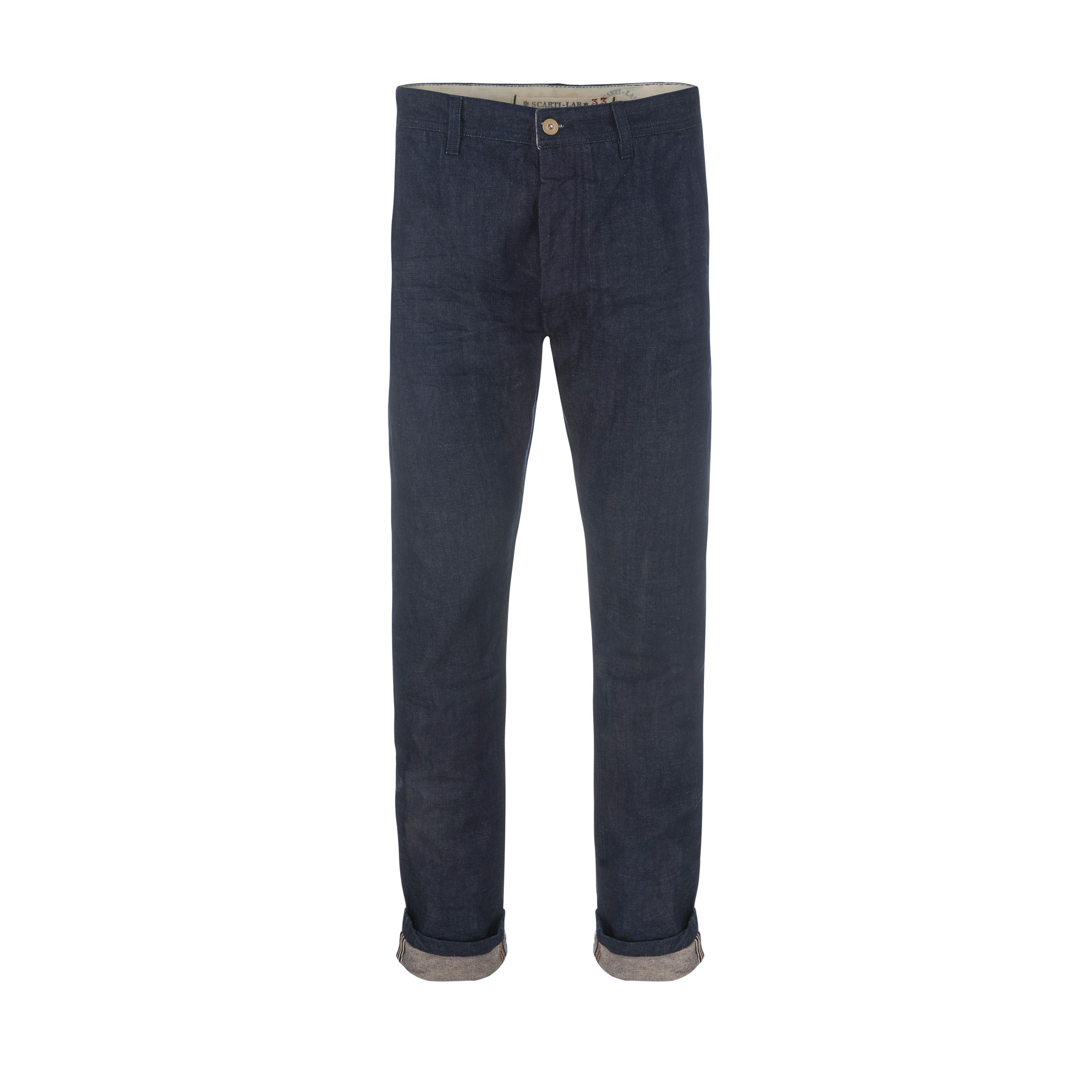 Cotton Pant Indigo