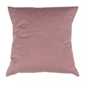 Pillowcase Stripe Red/White