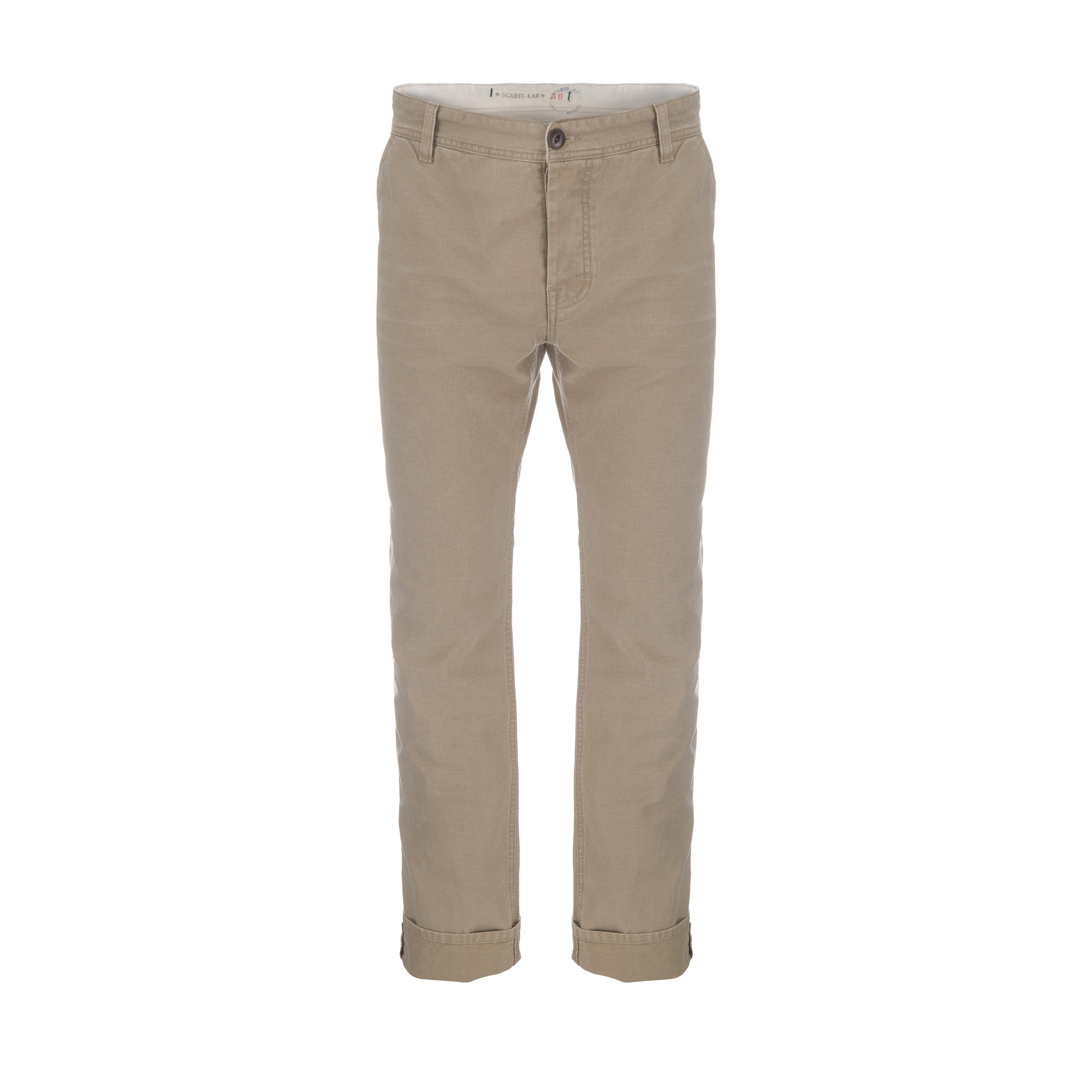 Cotton Pant Beige