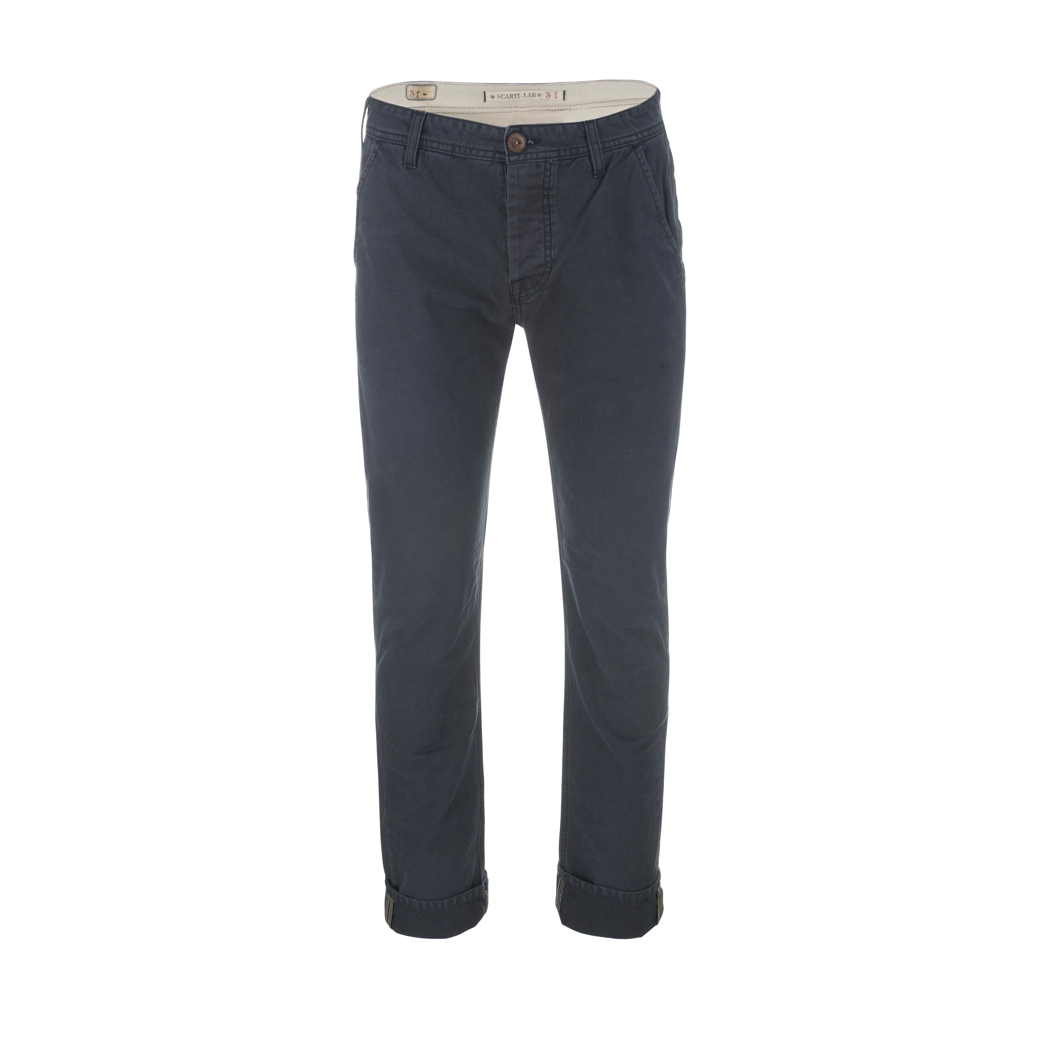 Cotton Pant Navy