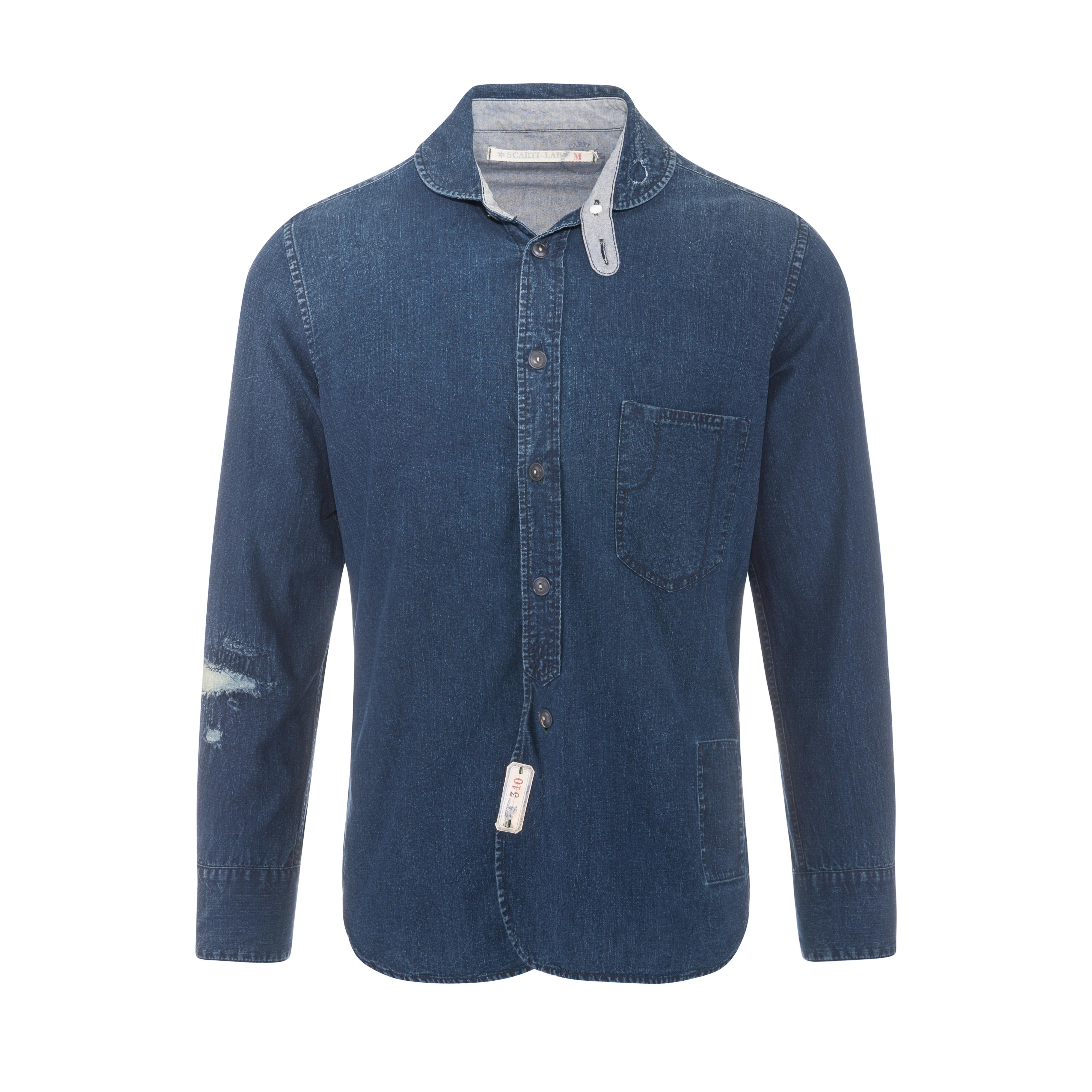 Denim Shirt Indigo