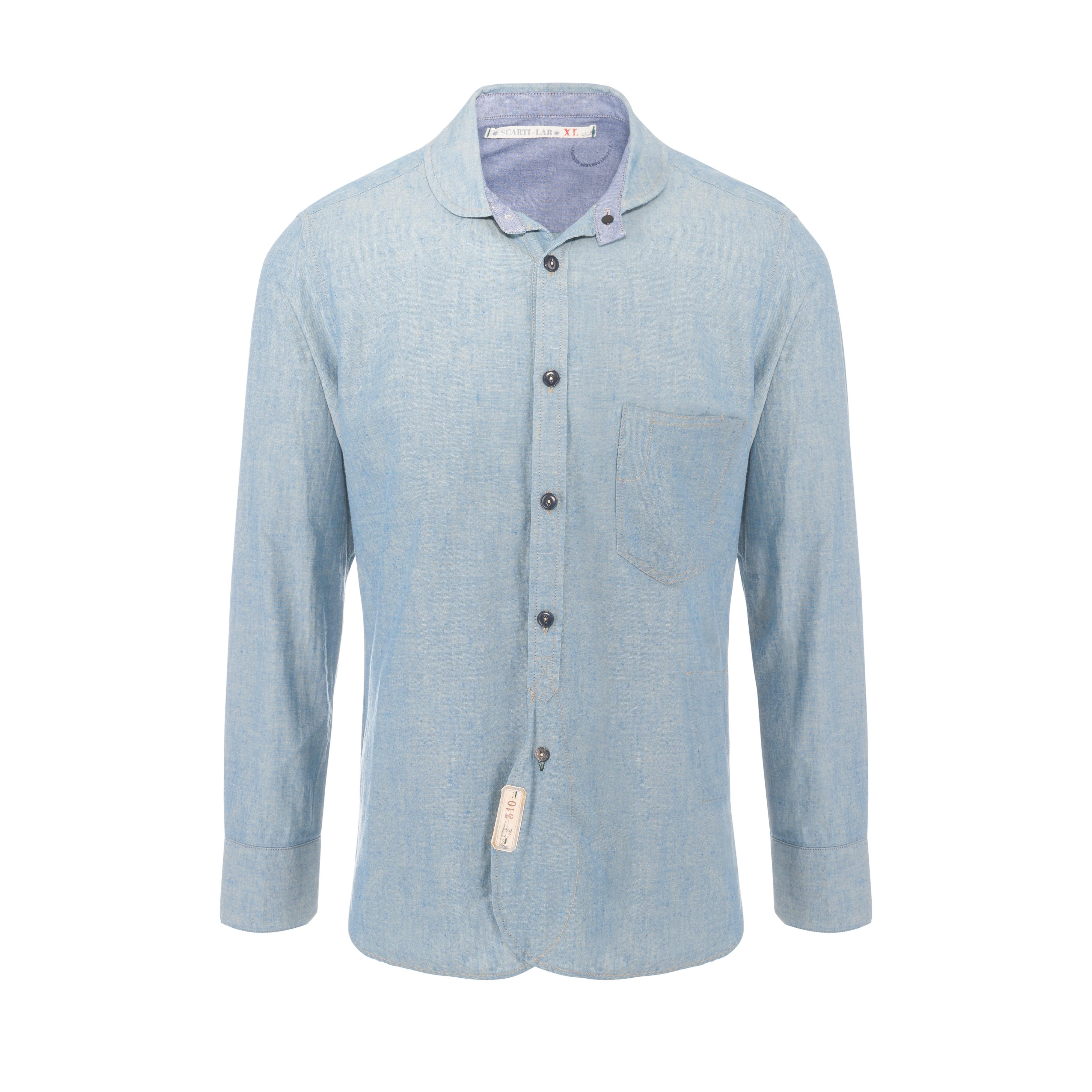 Cotton Shirt Light Blue