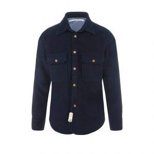 Cotton Shirt Navy