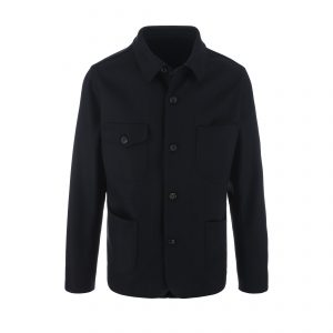 Wool Chore Coat 24oz Navy