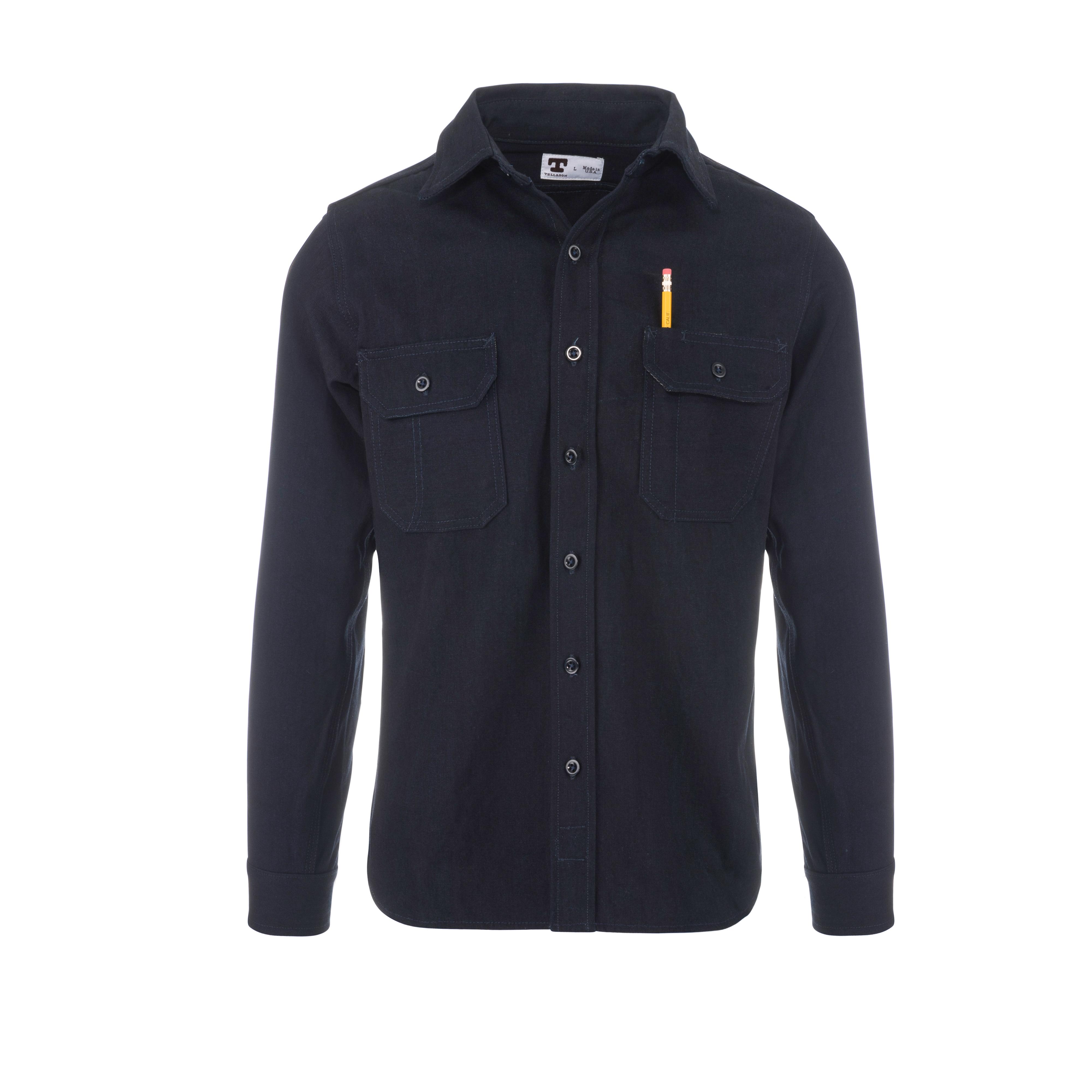 Clampdown Shirt 12.8oz Rinsed Indigo