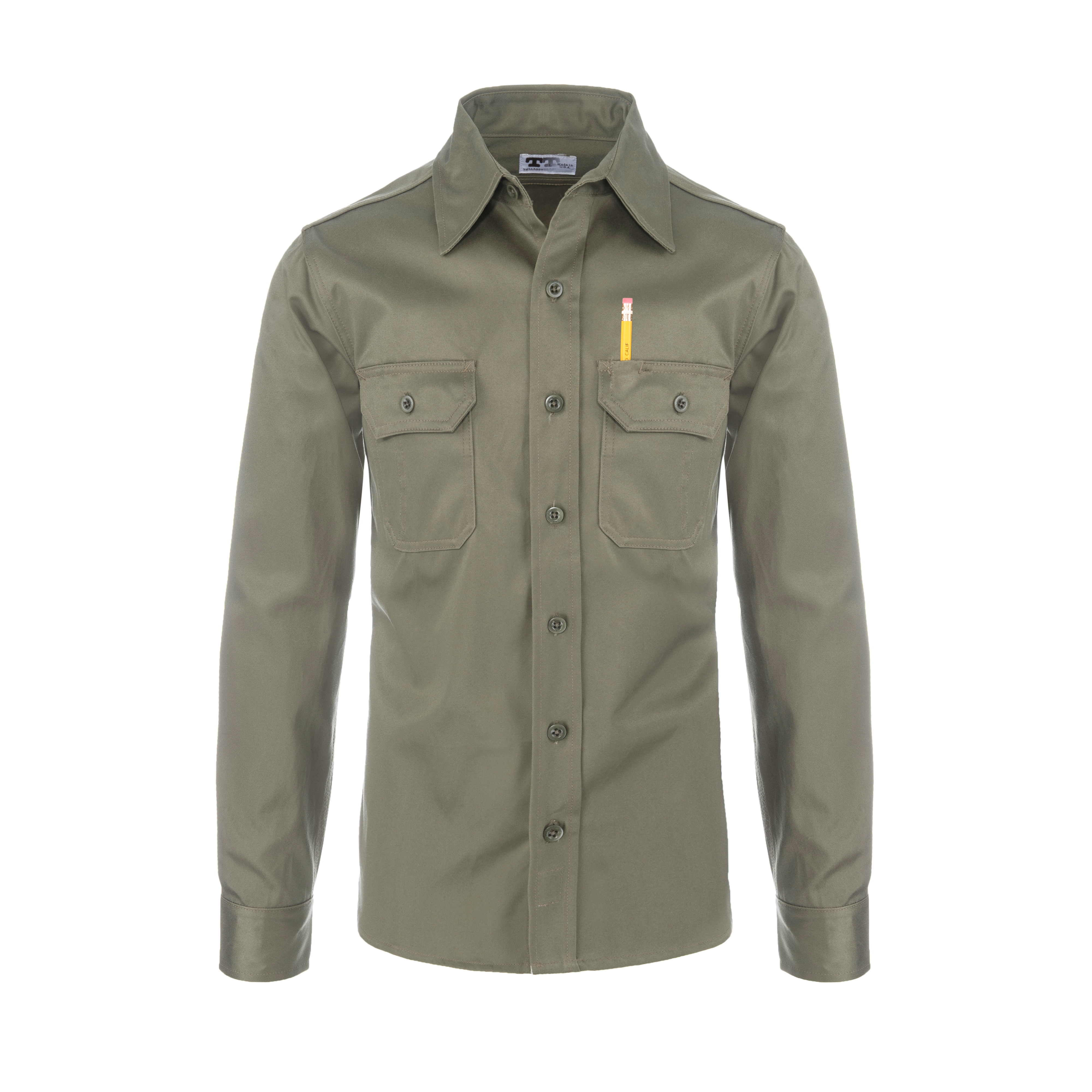 Clampdown Shirt 7.5oz Olive