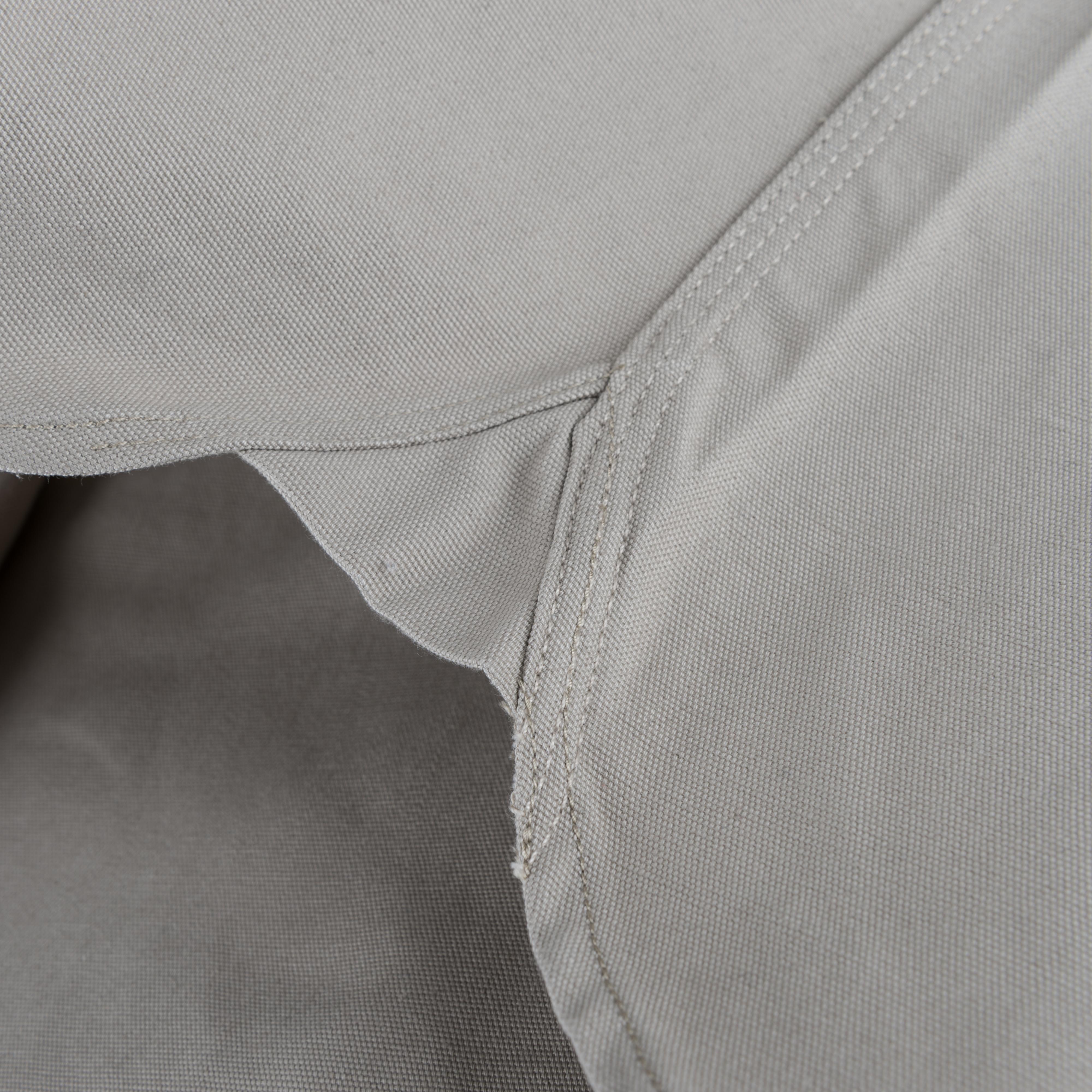 2212256493c Tellason. Clampdown Shirt 8oz Khaki