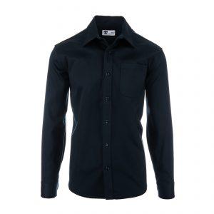 Longsleeve Single Pocket 7.5oz Shirt Navy