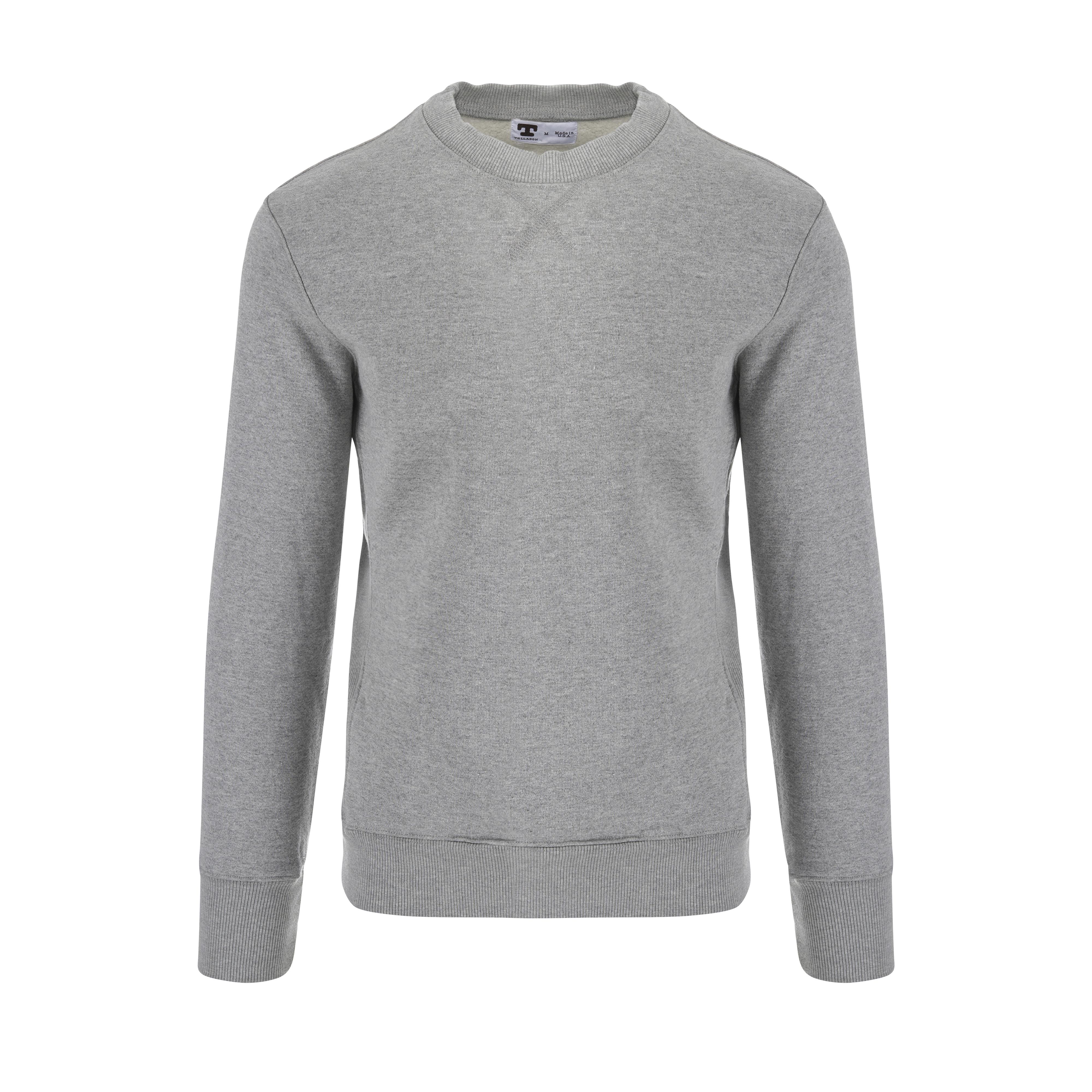 Crew Neck Sweatshirt Grey