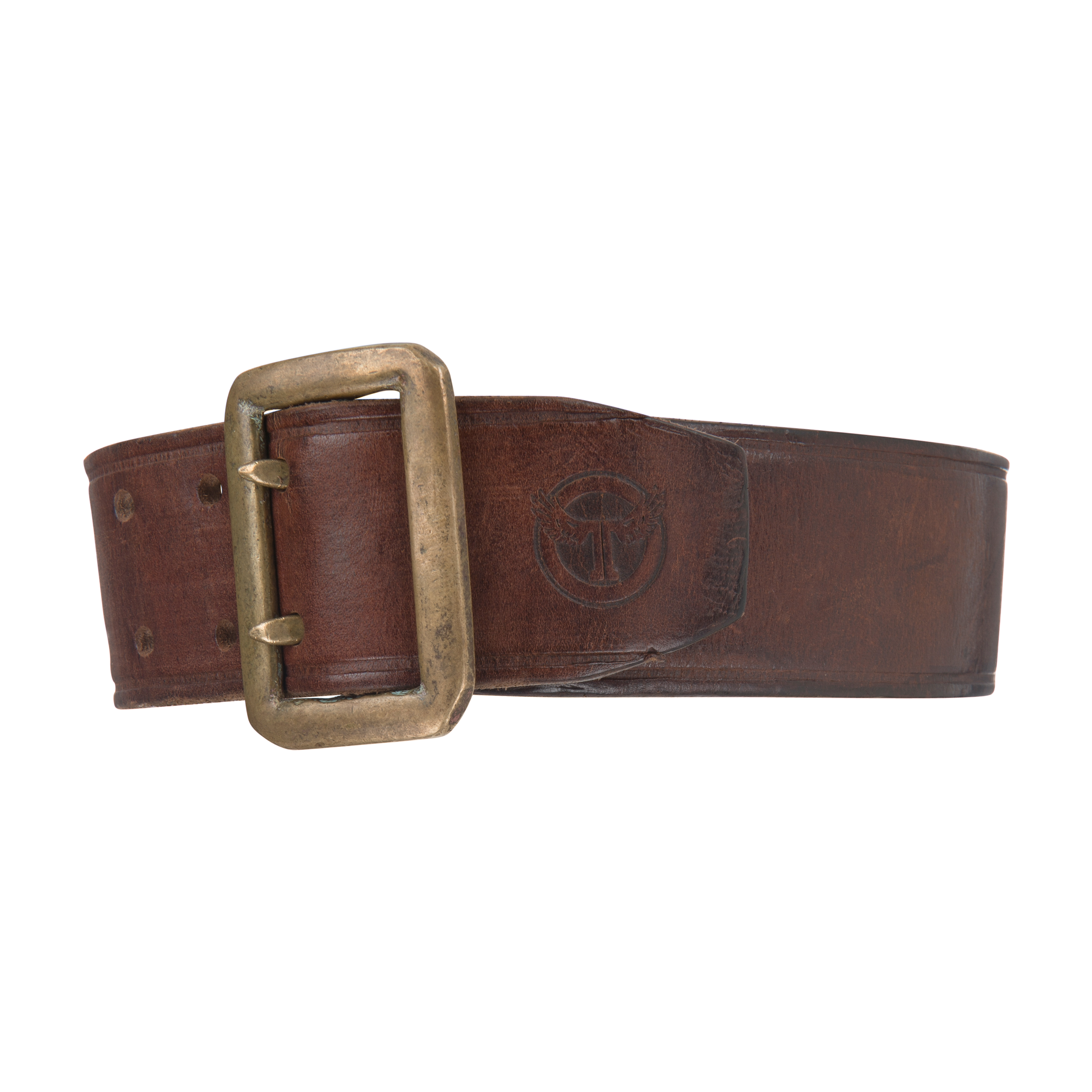 Leather Belt Dark Brown