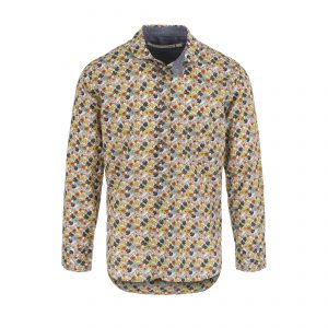Scarti-Lab-310-SL280-Cotton-Shirt-White-with-Flowers-Colorfull-01-0005