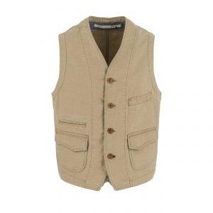 Scarti-Lab-403-SG824-Cotton-Vest-Tan-01-0117