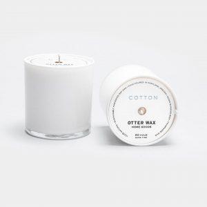 Cotton-Candle-White-Jar