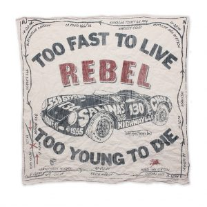Johnson-Motors-Bandana-Rebel-White
