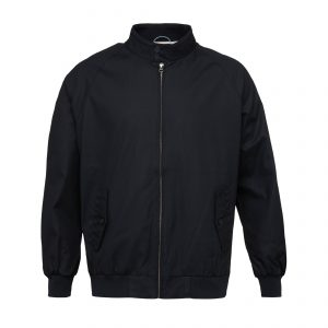 Knowledge-Cotton-Jacket-Catalina-Jacket-With-Stripped-Oxford- Lining-Total-Eclipse-92255-1001-01
