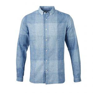 Knowledge-Cotton-big-check-shirt-limoges-90481-1065-01