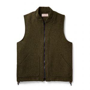 Filson-heavyweight-wool-outfitter-vest-forest-green-121-FG-01
