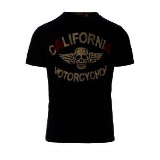73b8556e1 Johnson Motors. CA Motorcychos T-Shirt Vintage Black